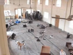 Newly Built Church Vandalised