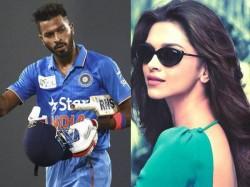 Hardik Pandya Confesses Deepika Padukone Is His Huge Crush