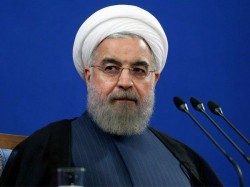 Iran Election President Hassan Rouhani Takes Lead