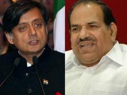 Kodiyeri Balakrishnan Against Shashi Tharoor