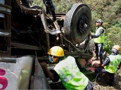 Uttarkashi Bus Accident 22 Killed After Bus Falls Into Bhagirathi River