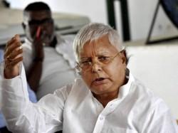 It Raids Bjp Can T Silence Me Not Afraid Fascist Forces Says Defiant Lalu Prasad Yadhav