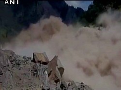 Landslide Affects Chardham Yatra On Badrinath Route U Khand