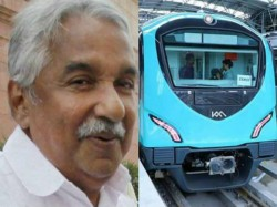 Kochi Metro Oommen Chandy S Party Workers Journey Kmrl Md A