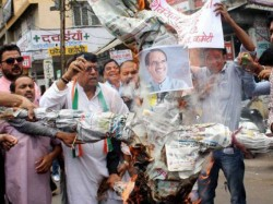 Madhya Pradesh Farmers Protest Ban Meetings