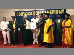 Us University Honours Amanulla With D Lit