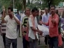 Ather Carries Daughter S Dead Body On Stretcher In Odisha Enquiry Ordered