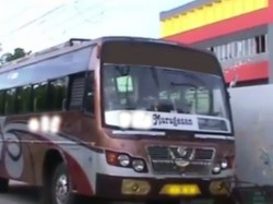 Motor Vehicle Officers Seized Private Bus Kollam