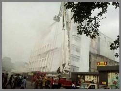 Day 2 Chennai Shop Fire Five Floors Collapse Smoke Soars