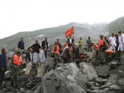 China Landslide Sichuan Province Xinmo People Feared Buried