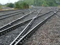 Man Fall From Bridge To Railway Track