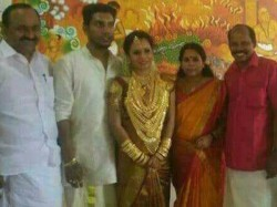 Party Warns Geetha Gopi Mla For Luxury Marriage Of Daughter