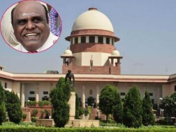 Supreme Court Refuses Suspend Justice Karnan S Six Months Jail Sentence In Contempt Case
