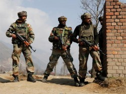 J K Two Jawans Injured As Terrorists Attack Crpf Vehicle Srinagar