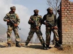 J K Two Jawans Injured As Terrorists Attack Crpf Vehicle Srinagar