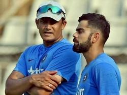 Virat Kohli Anil Kumble Were Not Talking Last Six Months Bcci Official