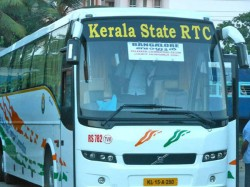 Ksrtc Bangalore Scania Bus Met With An Accident Nanjangud