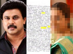 Letter By Pulsar Suni To Dileep Is Out
