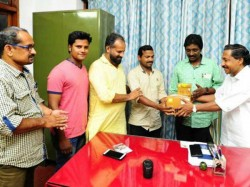 Cpm Local Committee Gives New Camera To Photographer