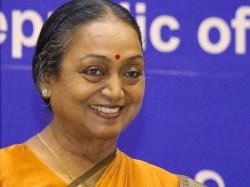 Former Lok Sabha Speaker Meira Kumar Is Opposition S President Candidate