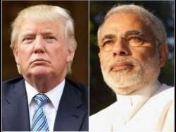Modi S Us Visit Modi Trump Meet Underway At White House