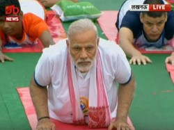 International Yoga Day 2017 Modi Yogi To Lead The Charge