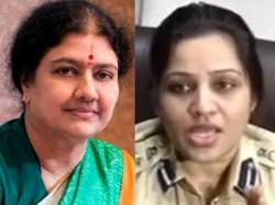 Vk Sasikala Jail Bribery Case D Roopa Hn Satyanarayana Rao Bangalore Jail