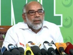 Muslim League Against Tp Senkumar