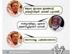 Social Media Troll Pinarayi Vijayans Intolerance To Media