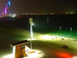 Dubai Municipality Has Decided Start Night Swimming Facility At Beach