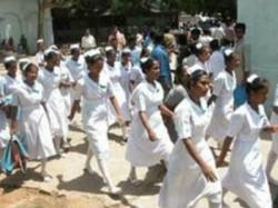 Kannur Nursing Students Strike Ends