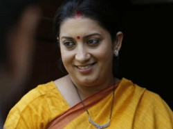 Smriti Iranis Thank You Note To Rahul Gandhi After His Hitler Remark