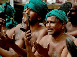 Tamil Nadu Farmers Protest States Move To Double Pay Of Mlas