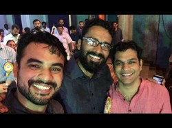 Tovino Thomas And Sreeram Venkitaraman In One Venue