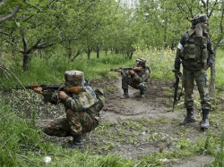 Terrorists Killed An Encounter With Security Forces Pulwama