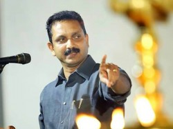 K Surendran Facebook Post Against Government
