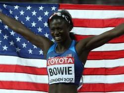 Tori Bowie Pulls Huge Upset Women S 100m