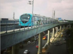Construction Workers Strike Continues Kochi Metro