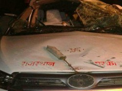 Rajasthan Minister Critically Injured In Accident Personal Assistant Dies