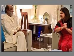 Bjp S Poonam Mahajan Meets Rajinikanth
