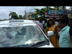 Chintha Jerome S Car Attacked A Youth Attingal