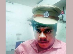 Cpm Worker Suspended Selfie With Police Cap