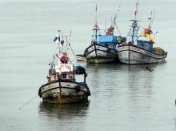 Foreign Ship Hits Fishing Boat Vizhinjam