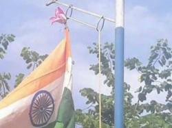 National Flag Hoisting Controversy Cherthala Railway Station