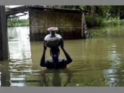 Death Toll Climbs 99 Assam Floods Modi Assures Help