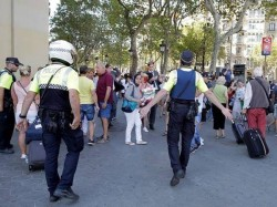 Isis Claims Responsibility For Van Attack In Barcelona