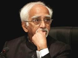 O Where You Feel Secure Rsss Indresh Kumar Tells Hamid Ansari