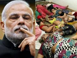 Narendra Modi Keep Silent In Gorakhpur Tragedy