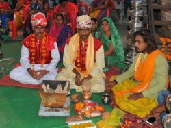 Wedding Of A Different Kind Two Men Marry Each Other To Please Rain God Indra
