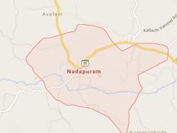 Tension At Nadapuram Bomb Attack Towards Students